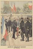 Arrival of Major Marchand at Toulon