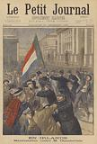 Demonstration in Ireland against Joseph Chamberlain