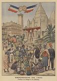 The Pavilion of Senegal and Dahomey at the Exposition Universelle of 1900 in Paris