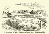 Pretorium of the Roman Camp near Pentonville