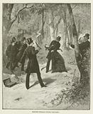 Madame Derblay stops the duel