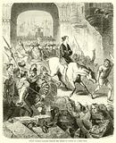 Perkin Warbeck paraded through the streets of London on a sorry mule