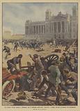 La tragica rivolta operaia a Budapest per il suffragio universale, barricate e sangue davanti …