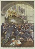 Scene d'incredibile violenza al Parlamento ungherese, deputato che tenta uccidere il presidente …