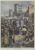 120 minatori uccisi dall'incendio in una miniera di Westfalia, l'Imperatore assiste ai tentativi …