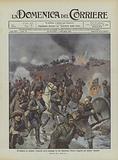 Di disfatta in disfatta, l'esercito turco prosegue la sua disastrosa ritirata inseguito dai bulgari vincitori