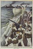 L'opera dei marinai italiani nell'Adriatico, la vigilanza sui trasporti nostri e degli Alleati fra le due sponde