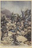 Sul Carso, dietro le truppe che avanzano, le retate di prigionieri nelle caverne e nei sotterranei