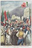 Nel castello di Argirocastro, il gen Ferrero proclama l'Albania unita e indipendente sotto l'egida dell'Italia