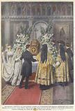 Una pittoresca cerimonia di rito greco-ortodosso a Londra, per il matrimonio della signorina …