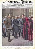 L'omaggio della Francia al cardinal Mercier