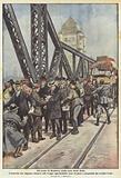 Sul ponte di Homberg, nella zona della Ruhr