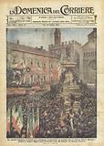 La solenne cerimonia di Trento per festeggiare l'annessione