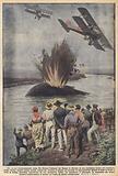 Uno strano bombardamento aereo