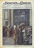Gli estremi onori a Benedetto XV