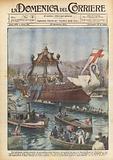 Uno spettacolo indimenticabile, la processione della Flottiglia Eucaristica sul mare di Genova