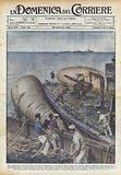 Una gigantesca impresa si sta tentando in Inghilterra, il ricupero della flotta da guerra tedesca …