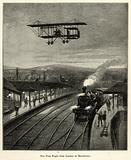 The First Flight from London to Manchester