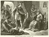 Naaman before Elisha, II, Kings, v, 15