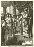 Rehoboam and the Young men, I, Kings, XII, 8