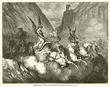 Zechariah's vision of the four Chariots, Zechariah, vi, 1