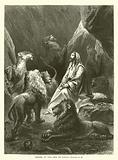 Daniel in the Den of Lions, Daniel, VI, 16