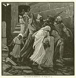 The Flight of Zedekiah, II, Kings, xxv, 4