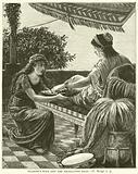 Naaman's Wife and the Israelitish Maid, II, Kings, v, 3