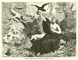Elijah and the Ravens, I, Kings, xvii, 6