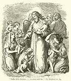 """Suffer little children…to come unto me"", St Matthew, xix, 14"