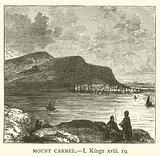 Mount Carmel, I, Kings xviii, 19