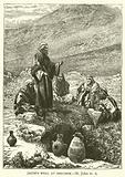 Jacob's well at Shechem, St John, iv, 6