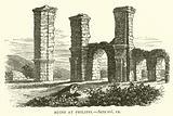 Ruins at Philippi, Acts, xvi, 12