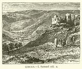 Gibeah, I, Samuel, xiii, 2