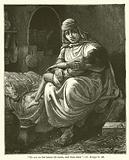 """""""He sat on her knees till noon, and then died"""", II, Kings, iv, 20"""