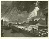 """The Lord sent thunder and hail"", Exodus, ix, 23"