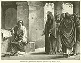 Hezekiah's ministers before Isaiah, II, Kings, xix, 2