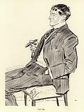 Phil May, portrait