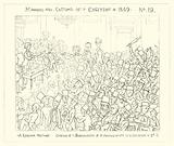 1849, A Railway Meeting, Emotion of the Shareholders at the Announcement of a Dividend of two and a half pence