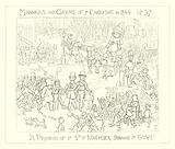 1849, A prospect of the 5th of November showing the Guys