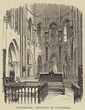 Magdeburg, Interior of Cathedral