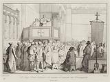 Il Doge Enrico Dandolo che assume il comando dei Crocesegnati, 1201