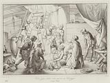 Carlo Zeno ferito nella guerra di Chioggia, 1380