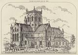 Parish Church of S James, Great Grimsby, Lincolnshire, proposed restoration, View from NE