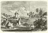 Une sucrerie a la Guadeloupe, ancien systeme