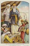 """""""They brought the Lord's Offering to the Work of the Tabernacle,"""" Exodus"""