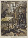 Una banda di briganti assalita dai carabinieri, che ne uccisero quattro, in un cascinale in comune di Novara