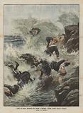 I delitti del mare, un'ondata che strappa e inghiotte, a Brest, quattro ragazze collegiali