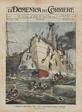 Naufragio del vapore italiano Sirio presso la costa orientale di Spagna, il salvataggio