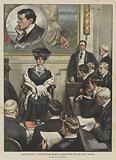 I grandi processi, il milionario Thaw davanti ai giudici di New York pel reato di omicidio